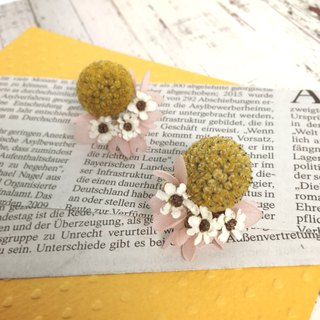 May White Plum Blossoms Earrings Earrings