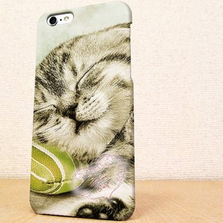 送料無料☆iPhone case GALAXY case ☆ 眠る子猫 phone case