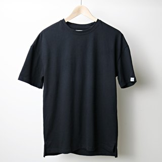 【RELEON】 grinds the shoulder T-SHIRT high pound the most gentle enough to pull OVERSIZE most comfortable MIT