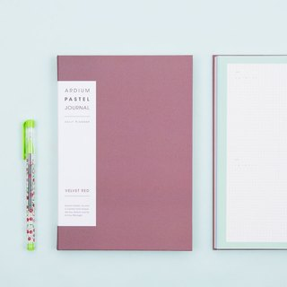 2018 ARDIUM PASTEL LAW Calendar / Handbook - Velvet Red