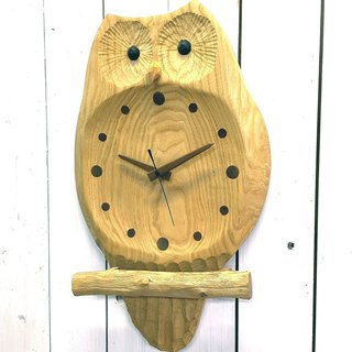 Hanging clock - Wake up of Owl (small)