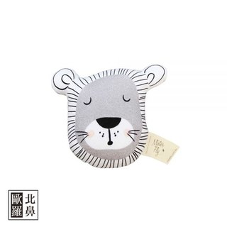 Mister Fly animal soothing rattle - lion