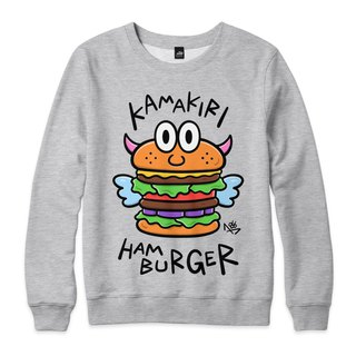 HAMBURGER - Deep Hemp Grey - Neutral University T
