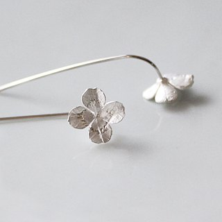 sv925 clover earrings