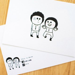 Feel Happy Postcard