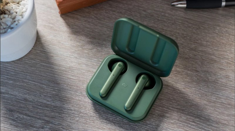 urbanista STOCKHOLM true wireless Bluetooth earphones - Olive Green