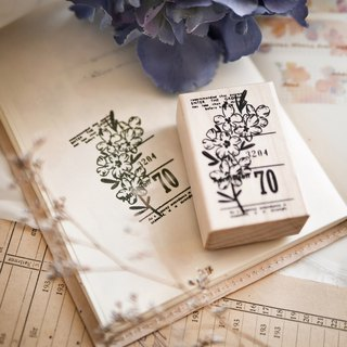 Maple Wood Flower Seal A