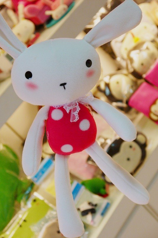 Bucute baby's first Bunny / births / birthday gift / Popularity / manual / doll / handmade / detail