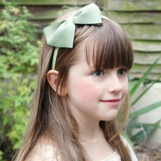 Belle & Boo Green Hairband