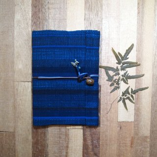 Natural Dyeing Plants Dyeing Wood Dyeing Handmade Woven Blue Handmade Bookstore / Picture Book (Large)