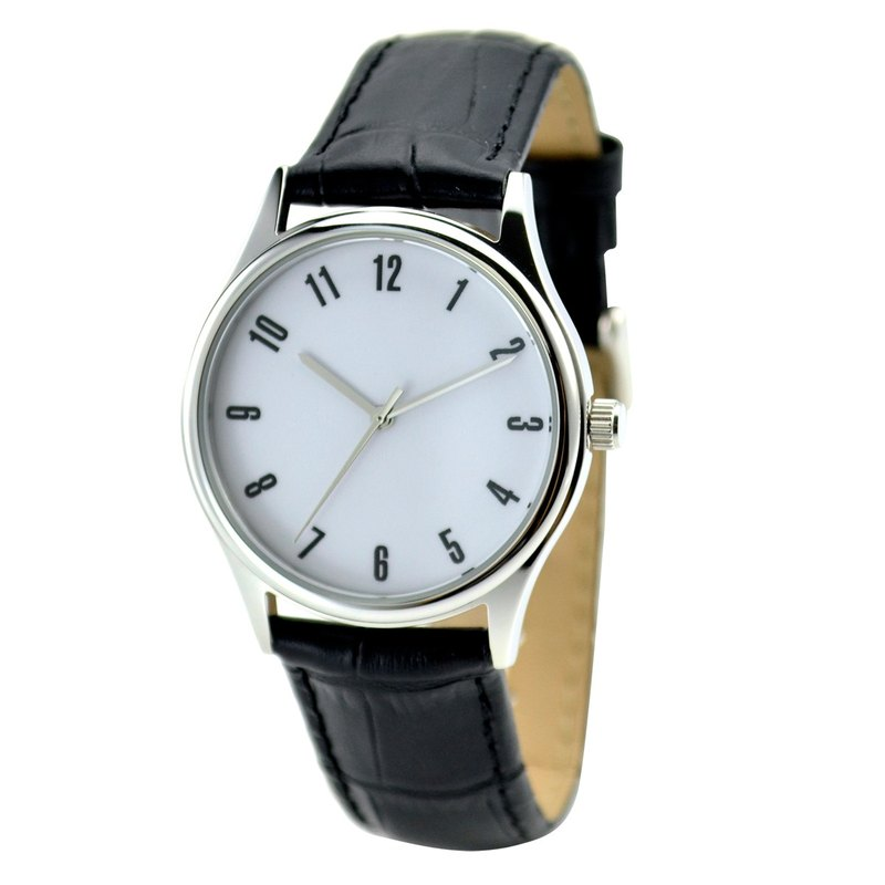 Minimalist Watch Numbers - Unisex - Free Shipping Worldwide