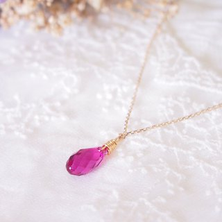 Anniewhere | Little Devil | Swarovski Crystal 14kgf Necklace