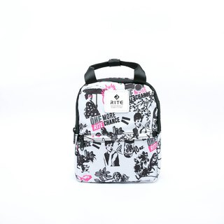 [RITE] Le Tour Series - Dual-use Mini Backpack - PUNK White