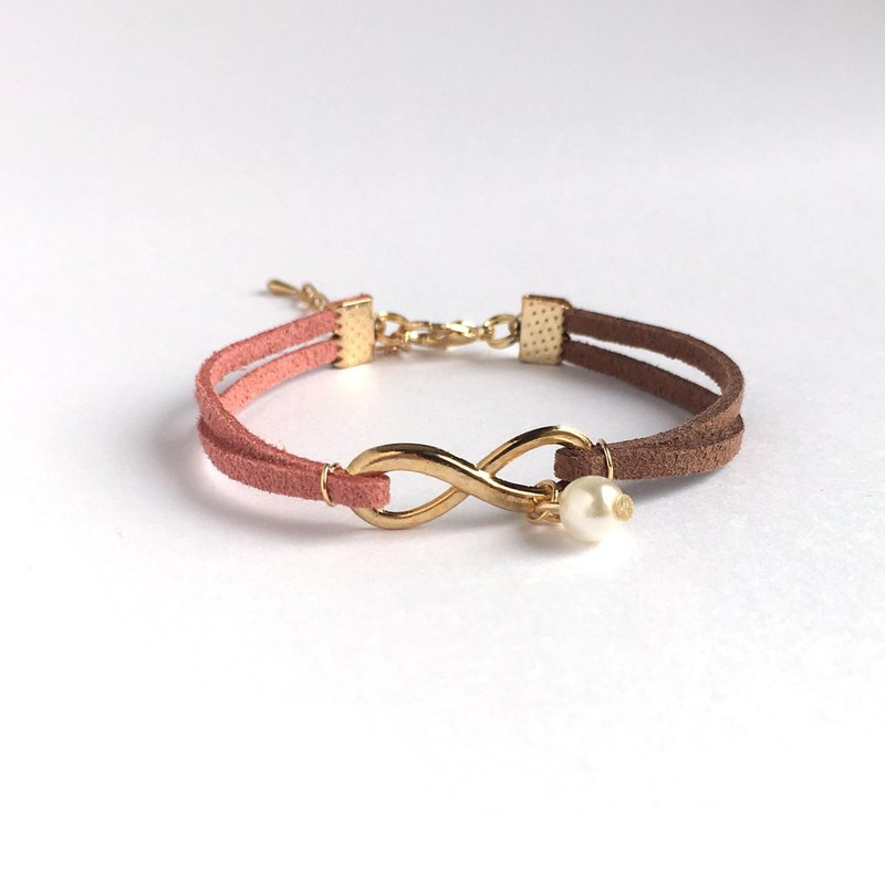 Handmade Infinity Bracelets Rose Gold Series– rose&coco limited