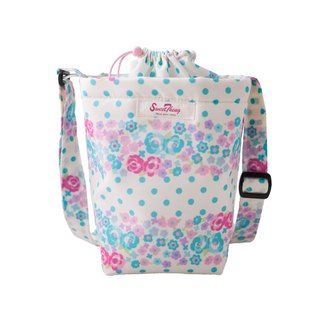 Rose Garden Quick Storage Waterproof Kettle Bag - Crossbody Bag