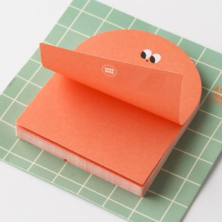 Livework SOMSOM cute cloud sticky note S-playing hamster, LWK54982