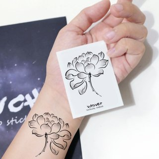 TU Tattoo Sticker - ink, Lotus / Tattoo / waterproof Tattoo / original / Tattoo Sticker