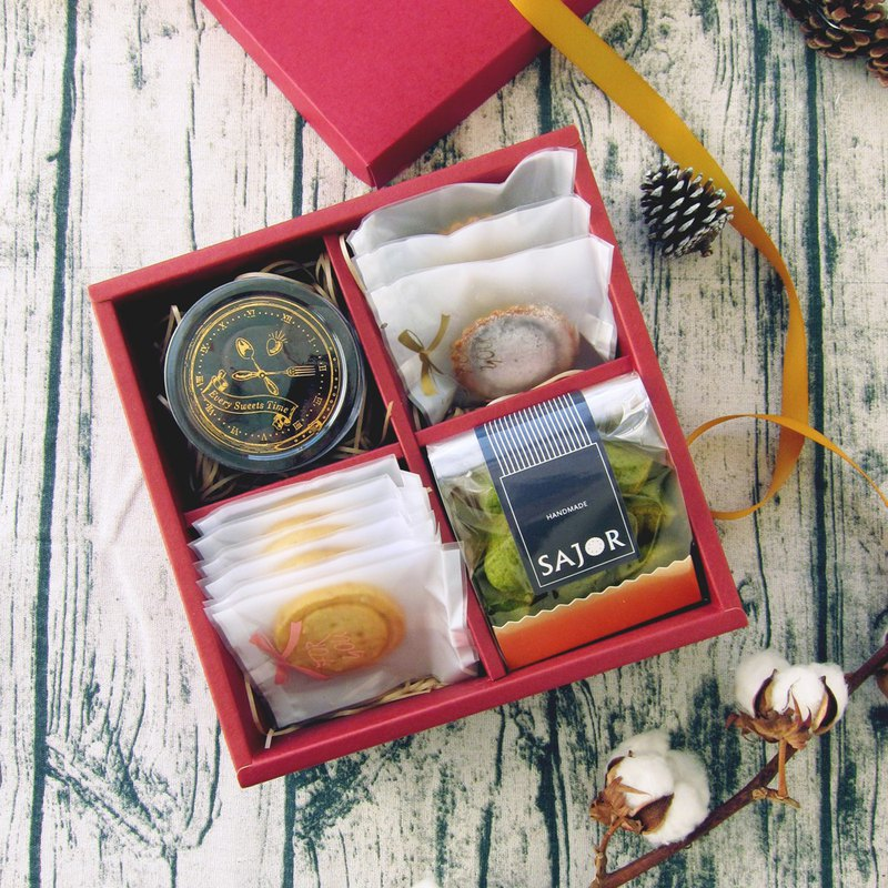 Pig Treasure Box-Handmade Biscuits New Year Gift Box