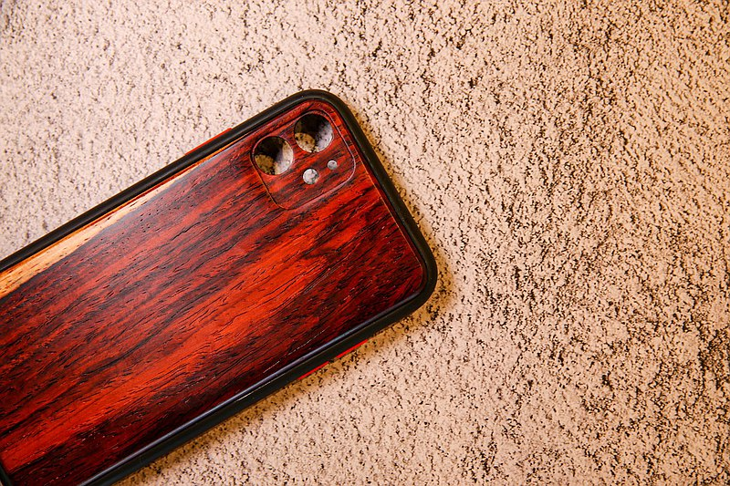 iphone11 log phone case (dalbergia dimple)