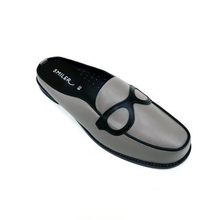 --MENS-- Glasses half-sandals - Grey