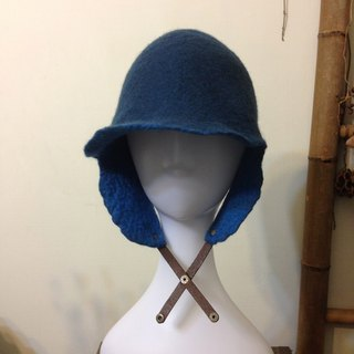 Wool felt hat shape little knight ~