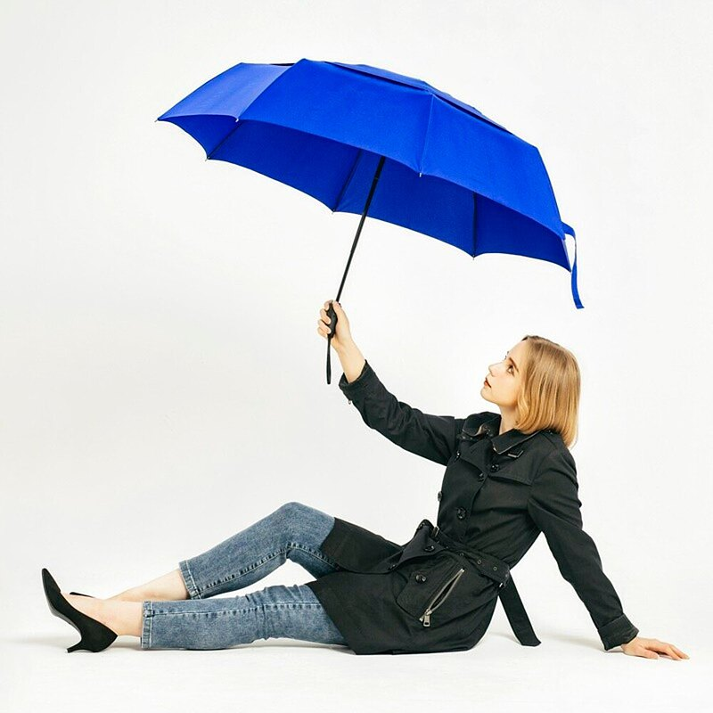 A.Brolly Portobello防撞自動傘-寶石藍