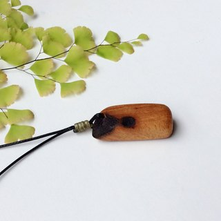 Niu Niu Niu ~~ Beef Lumber Wood Necklace