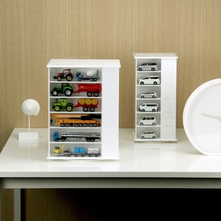 Rotatable Acrylic Model Display Case - L