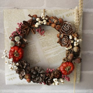 Kay Luo hand for creative Hanayome - Fruit Christmas wreath