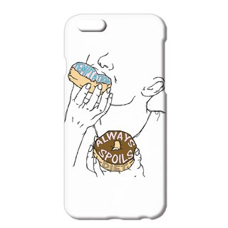 iPhone case / temptation always spoils diet
