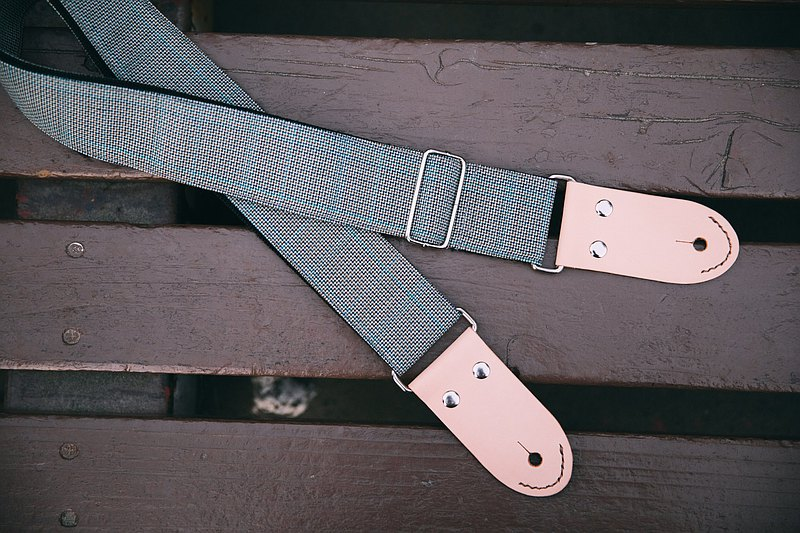 吉他背帶 _ 爺爺的老西裝 / Guitar strap