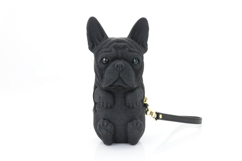 adamo 3d bag original french bulldog clutch with strap デザイナー