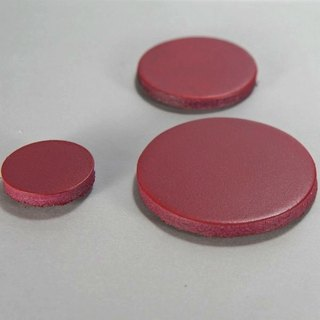 Magnet leather leather round diameter 4 cm 5 32 yuan / month