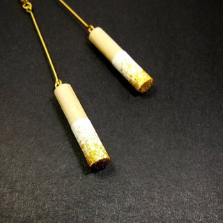 Wooden Earrings No.30