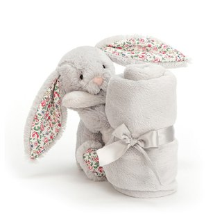 Jellycat Blossom Silver Bunny Soother