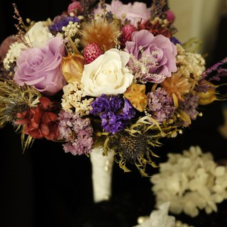 Only Love You bouquet - elegant purple