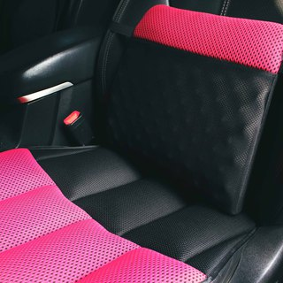 AC RABBIT Automotive TPU cushion cushion lumbar cushion set - Round lumbar by APC-1703V