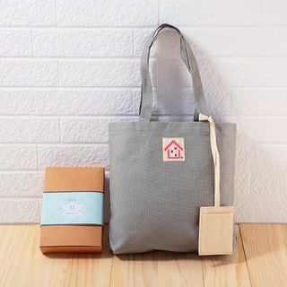 Buy one get one free / hand made canvas bag - personality gray / exchange gift Christmas gift