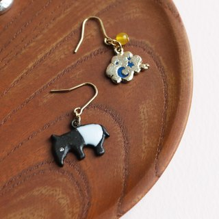 Japanese handmade accessories - Malayo daydream earrings