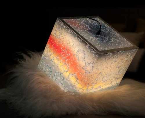 Snowflake Light Cube Lamp by UNIQCUBE