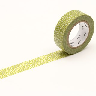 mt Masking Tape Deco【Mujinagiku Olive Yellow (MT01D415)】2018SS