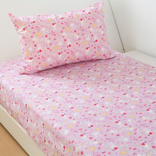 Anti-mite waterproof breathable cotton bedding bed bag pillowcase <rabbit garden> increase the cleaning pad diapers mat waterproof pad