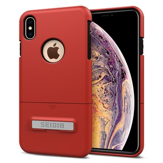 都會時尚手機殼/保護殼for Apple iPhone Xs Max-熱情紅-SURFACE