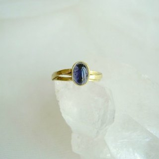 No. 9 Iolite Ring