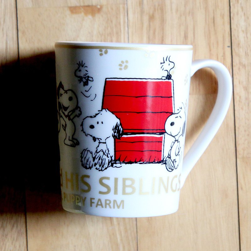 SNOOPY Snoopy-Year Cup Series Mug 2021