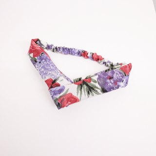 JOJA│ no time to play Wen Qing take the name: Japanese handmade fabric elastic hair band