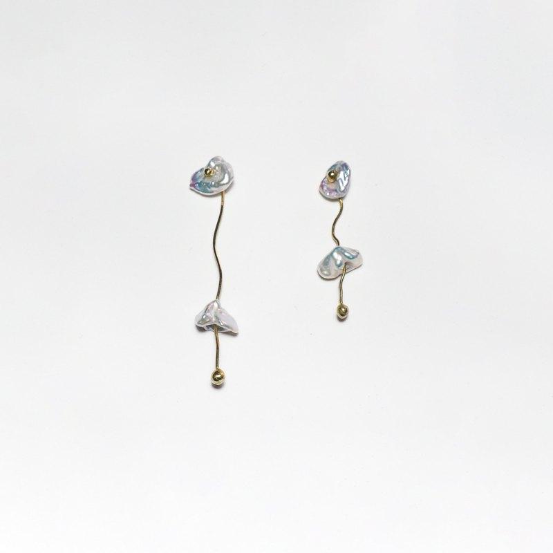 隱喻- 印記 耳環 (垂墜) Metaphor - Hallmark Earrings (dangle)