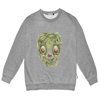 British Fashion Brand -Baker Street- Avocado Skull Printed Sweater