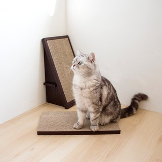 [Ange home] tenacious cat scratch board (2 pieces) | Walnut (giving pure natural catnip)