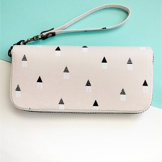 Sweet Home small house. Waterproof long clip / wallet / purse / purse